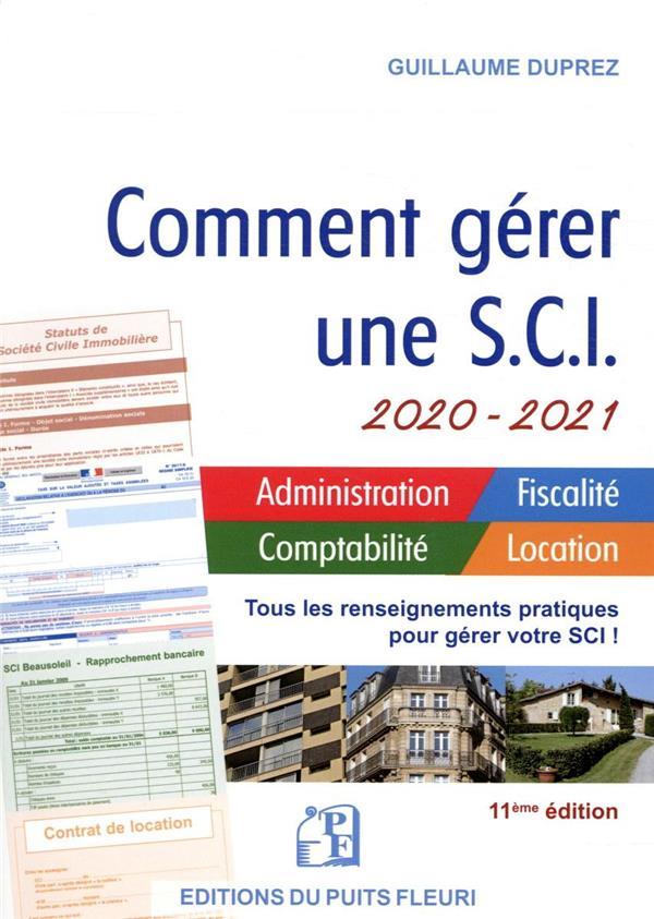 COMMENT GERER UNE SCI (EDITION 20202021)