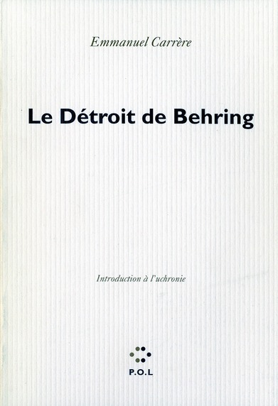 LE DETROIT DE BEHRING