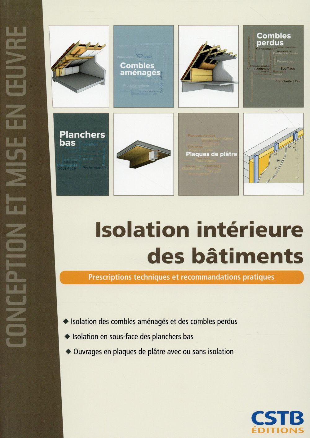 ISOLATION INTERIEURE DES BATIMENTS