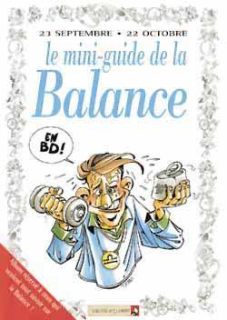 LES MINI-GUIDES EN BD T.27  -  LE MINI-GUIDE ASTRO DE LA BALANCE XXX VENTS D'OUEST