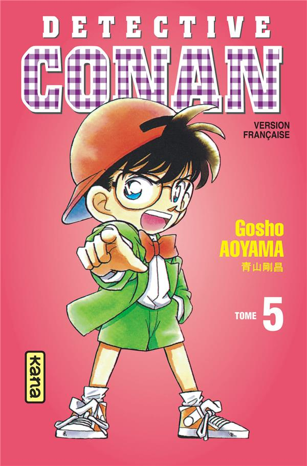 DETECTIVE CONAN T.5 AOYAMA, GOSHO DARGAUD