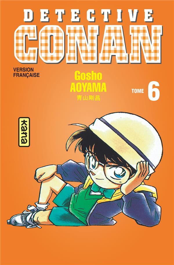 DETECTIVE CONAN T.6 AOYAMA, GOSHO DARGAUD