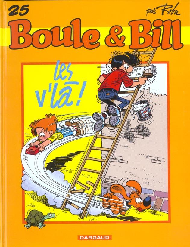 BOULE et BILL T.25  -  LES V'LA ! ROBA JEAN DARGAUD