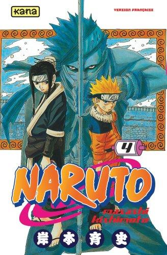 NARUTO T4 MASASHI KISHIMOTO DARGAUD