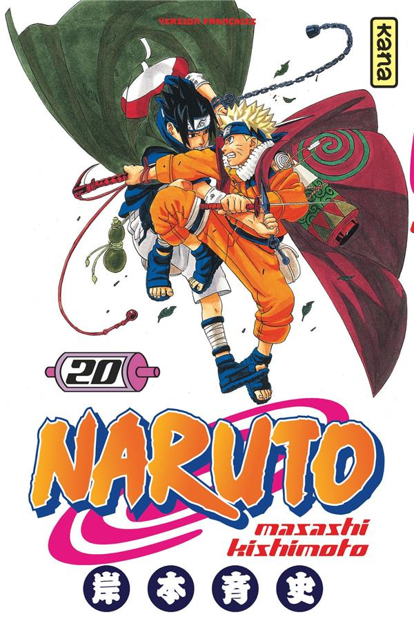 NARUTO T.20 KISHIMOTO, MASASHI DARGAUD