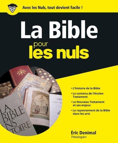 LA BIBLE POUR LES NULS DENIMAL, ERIC FIRST