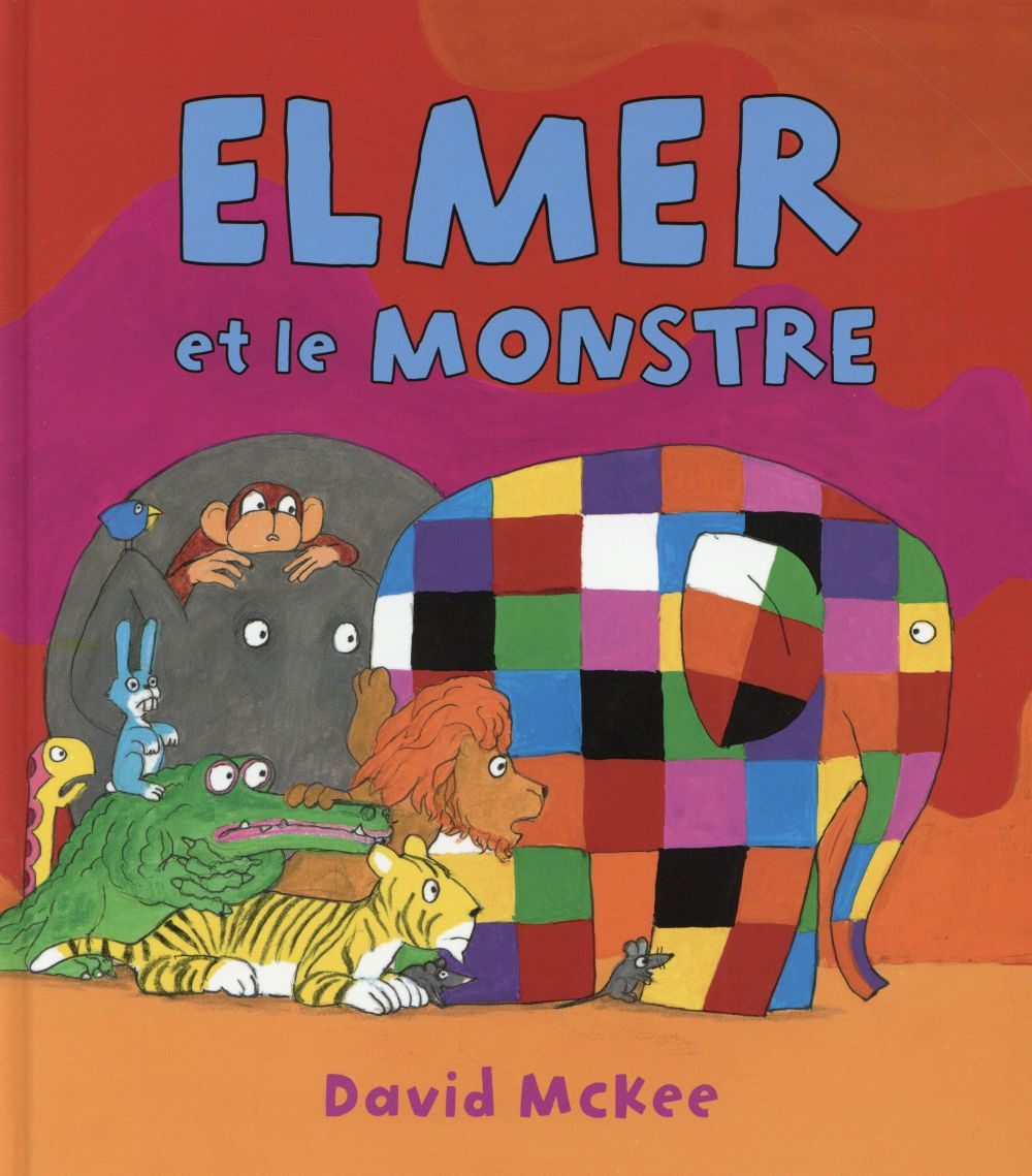 ELMER ET LE MONSTRE McKee David Kaléidoscope