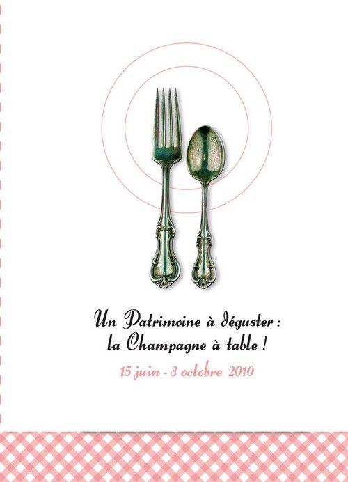 UN PATRIMOINE A DEGUSTER : LE CHAMPAGNE A TABLE ! 15 JUIN - 3 OCTOBRE 2010  COLLECTIF GUENIOT