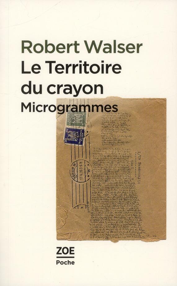 LE TERRITOIRE DU CRAYON