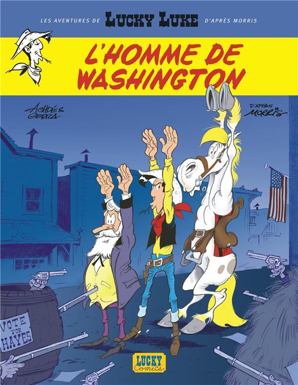 LUCKY LUKE L HOMME DE WASHINGT