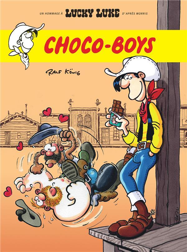 LUCKY LUKE  -  CHOCO-BOYS XXX LUCKY