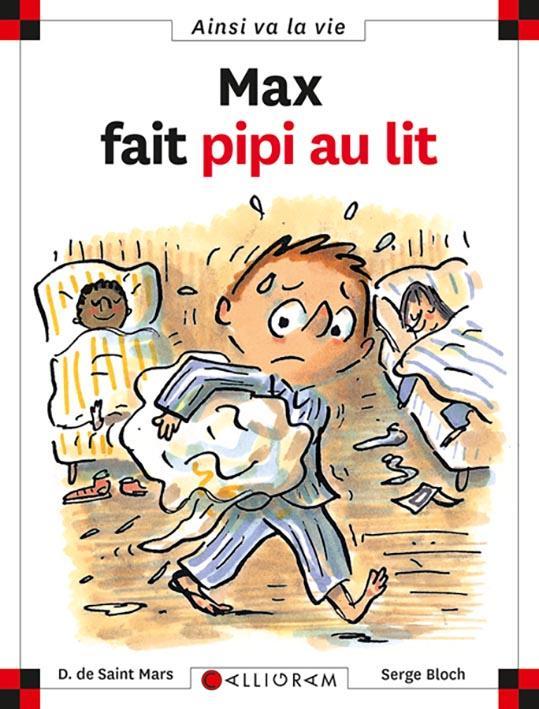 MAX FAIT PIPI AU LIT - TOME 59 - VOL59 DE SAINT-MARS/BLOCH CALLIGRAM