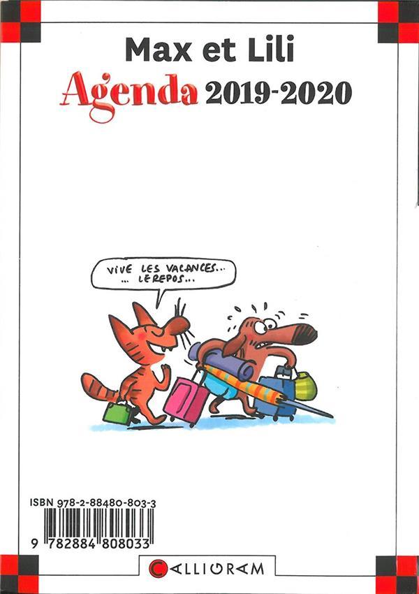 AGENDA SCOLAIRE 2019-2020  Lgdj