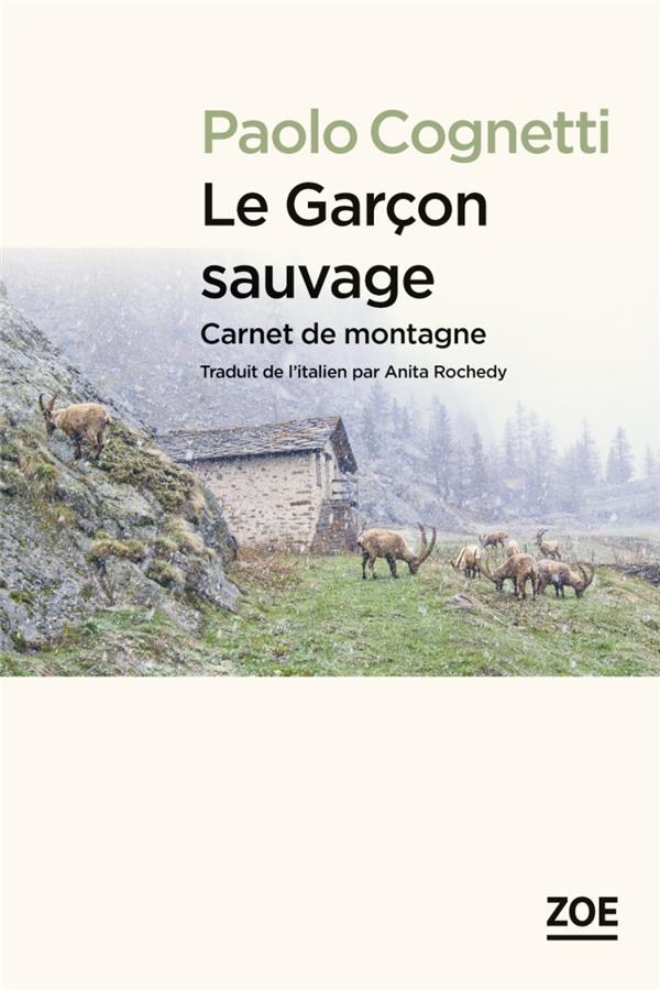 LE GARCON SAUVAGE - CARNET DE COGNETTI PAOLO ZOE