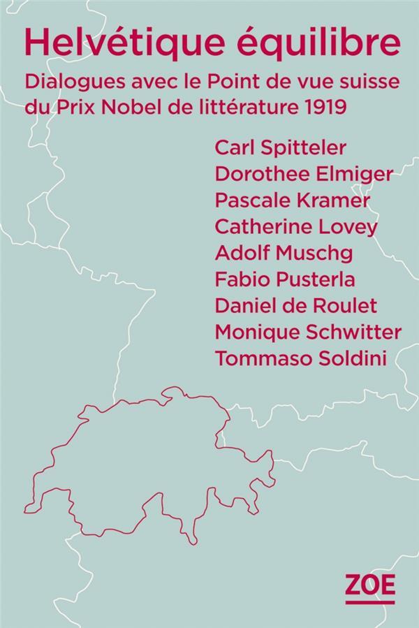 HELVETIQUE EQUILIBRE - DIALOGU KRAMER/DE ROULET ZOE
