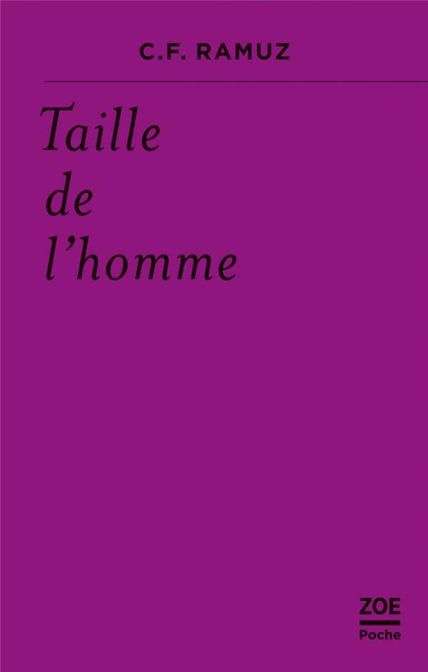 TAILLE DE L'HOMME