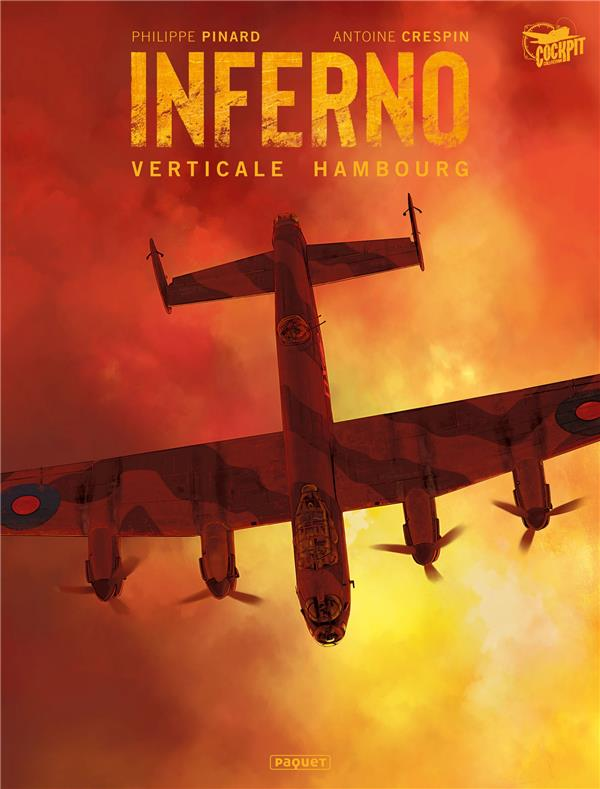 INFERNO T.1  -  VERTICALE HAMBOURG CRESPIN/PINARD PAQUET
