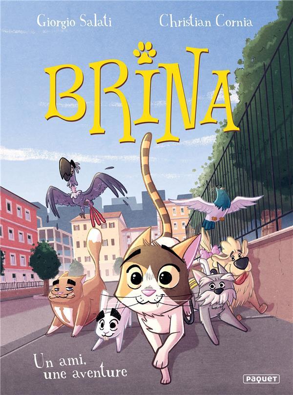 BRINA T.2  -  UN AMI, UNE AVENTURE