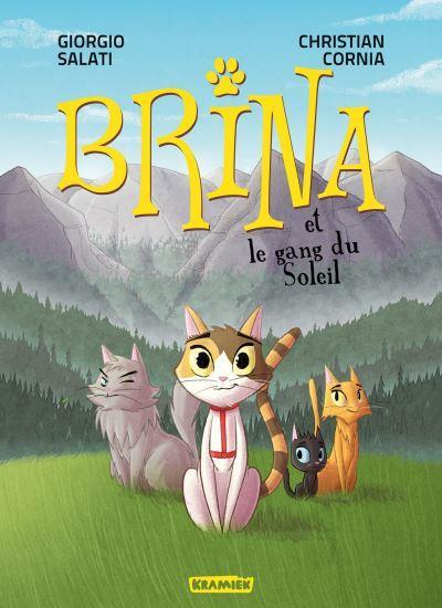 BRINA T.1  -  BRINA ET LE GANG DU SOLEIL