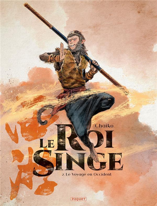 LE ROI SINGE T.2  -  LE VOYAGE EN OCCIDENT