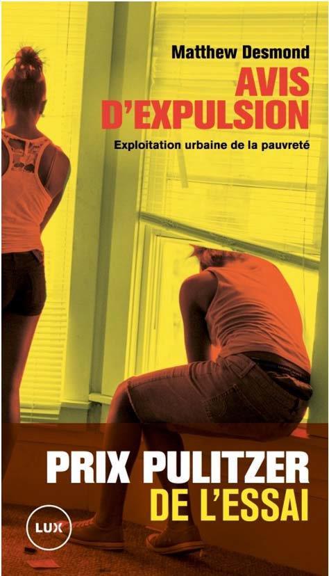 AVIS D'EXPULSION  -  EXPLOITATION URBAINE DE LA PAUVRETE