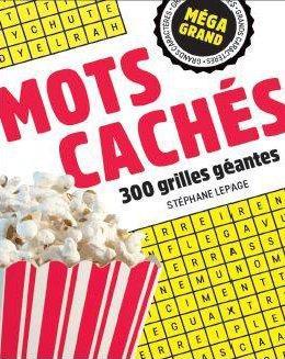 MEGA GRAND  -  MOTS CACHES LE PAGE, STEPHANE BRAVO