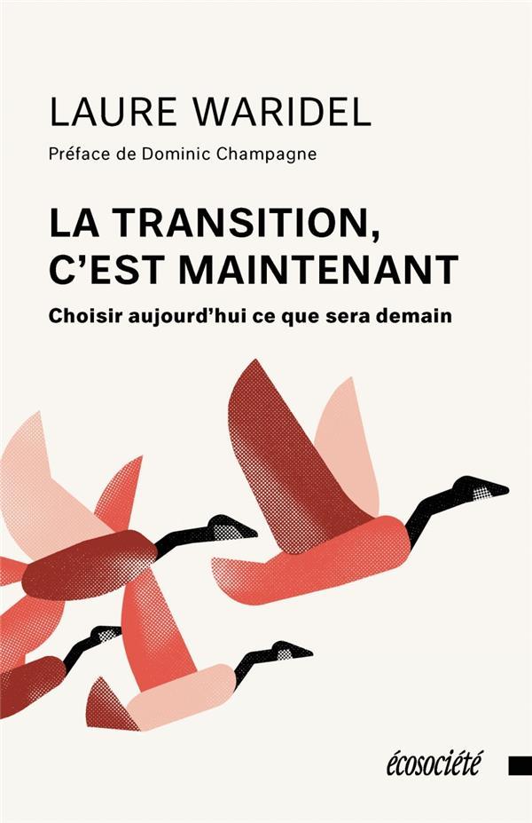 LA TRANSITION, C'EST MAINTENANT  -  CHOISIR AUJOURD'HUI CE QUE SERA DEMAIN