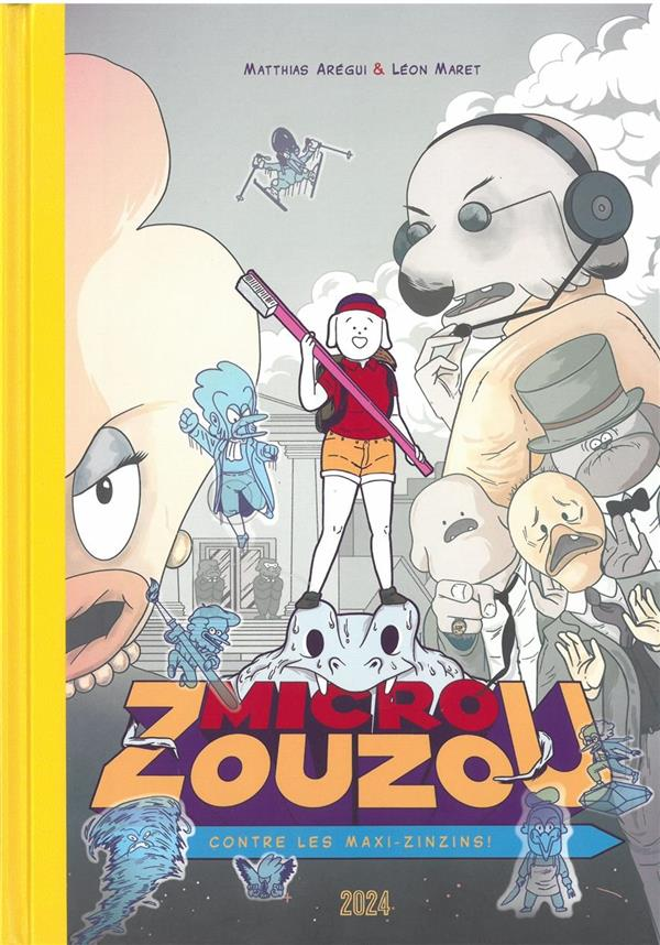 MICRO ZOUZOU CONTRE LES MAXI-ZINZINS AREGUI/MARET 2024