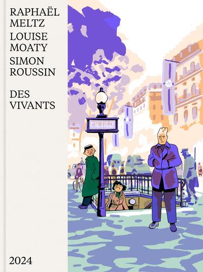 DES VIVANTS ROUSSIN/MELTZ/MOATY 2024