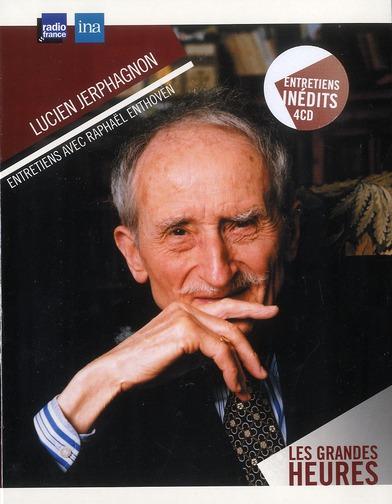 LUCIEN JERPHAGNON - ENTRETIENS 4CD