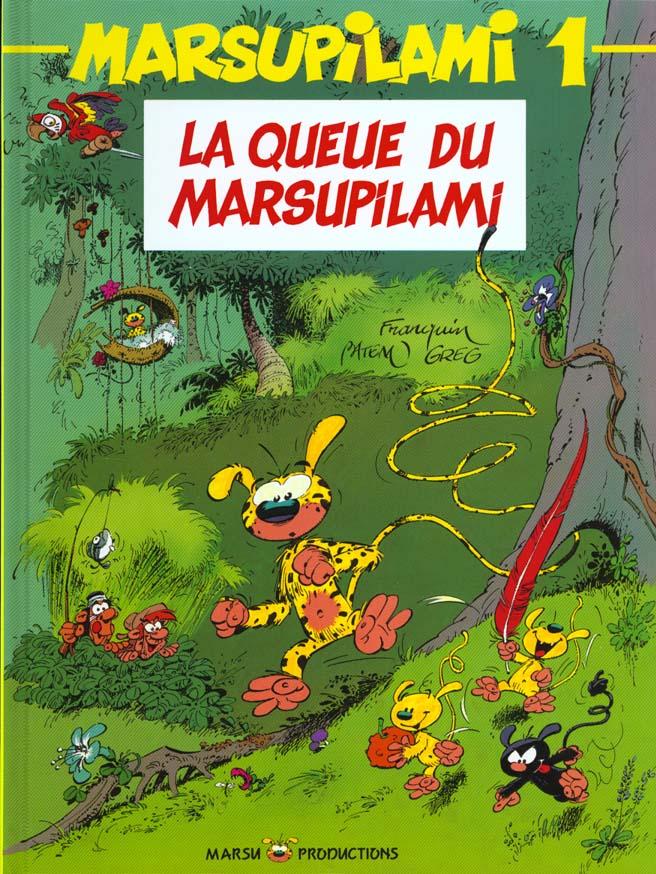 MARSUPILAMI T.1  -  LA QUEUE DU MARSUPILAMI FRANQUIN/BATEM/GREG MARSU