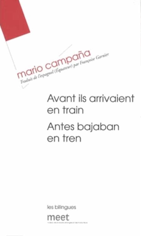AVANT ILS ARRIVAIENT EN TRAIN