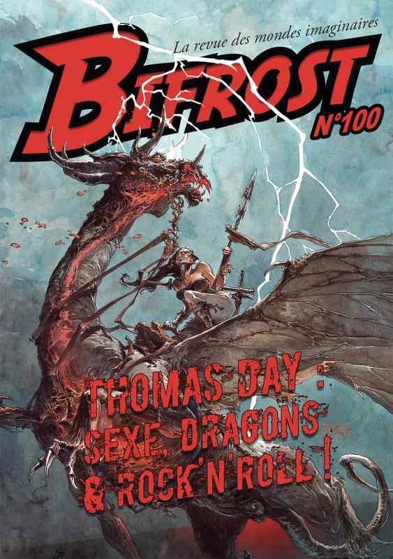 BIFROST N.100  -  THOMAS DAY : SEXE, DRAGONS et ROCK'N ROLL !