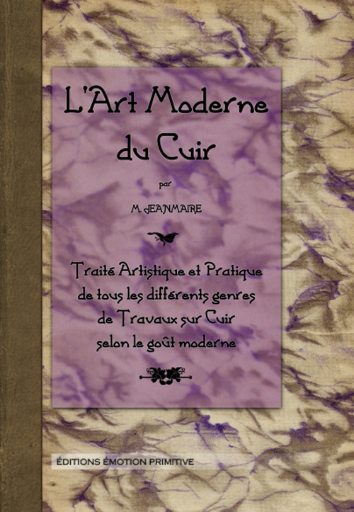 ART MODERNE DU CUIR JEANMAIRE PRIMITIVE