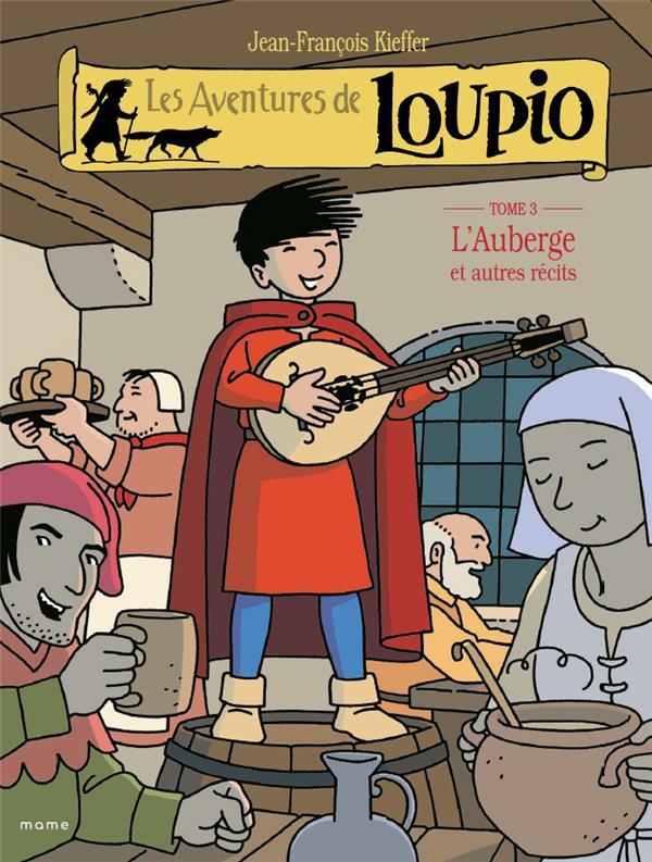 LOUPIO N 3-L-AUBERGE ET AUTRES RECITS