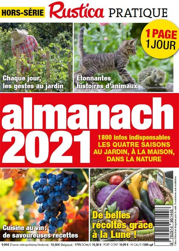 ALMANACH (EDITION 2021) JEANNIN DA COSTA, SABINE RUSTICA