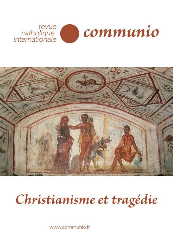 REVUE COMMUNIO N.271  -  CHRISTIANISME ET TRAGEDIE
