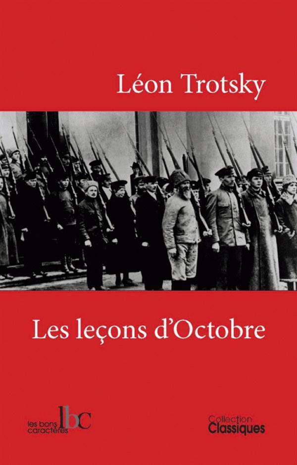 LES LECONS D'OCTOBRE