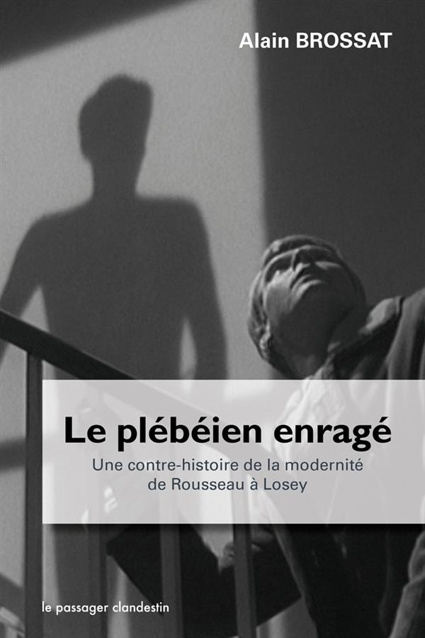 LE PLEBEIEN ENRAGE  -  UNE CONTRE-HISTOIRE DE LA MODERNITE DE ROUSSEAU A LOSEY