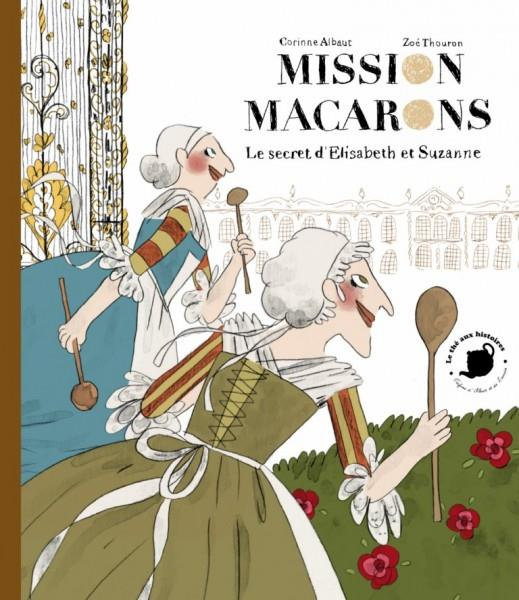 MISSION MACARONS ALBAUT / THOURON FEUILLES MENTHE
