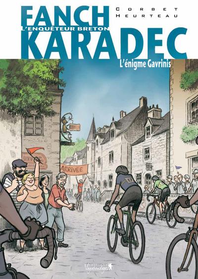 Fanch Karadec L'énigme Gavrinis Vol.4 Corbet Sébastien Vagabondages