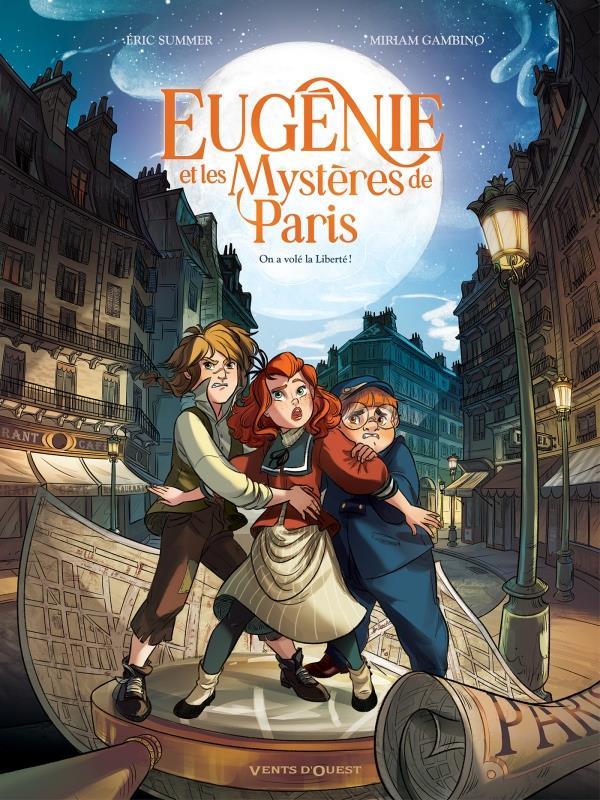 EUGENIE ET LES MYSTERES DE PARIS - T 01 OP BD HEROINES SUMMER/GAMBINO GLENAT