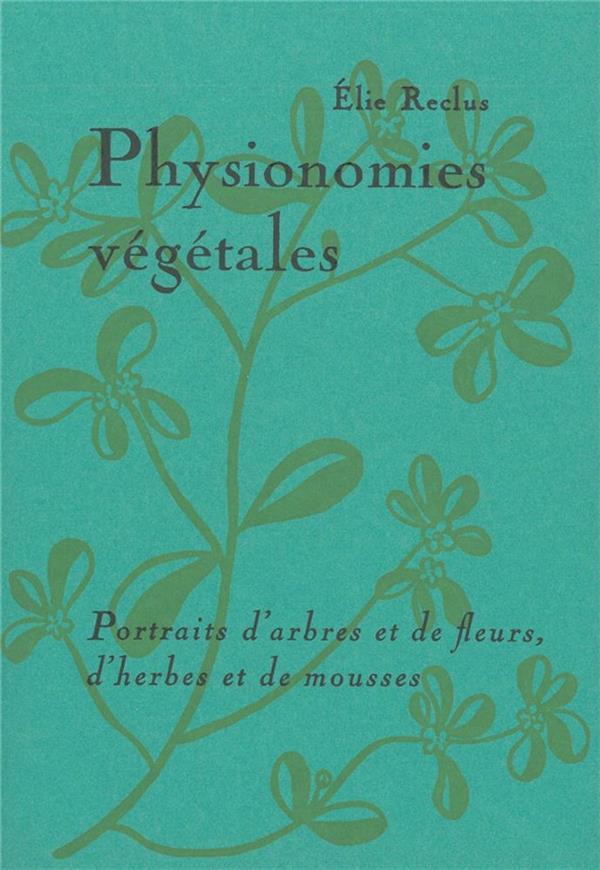 PHYSIONOMIES VEGETALES