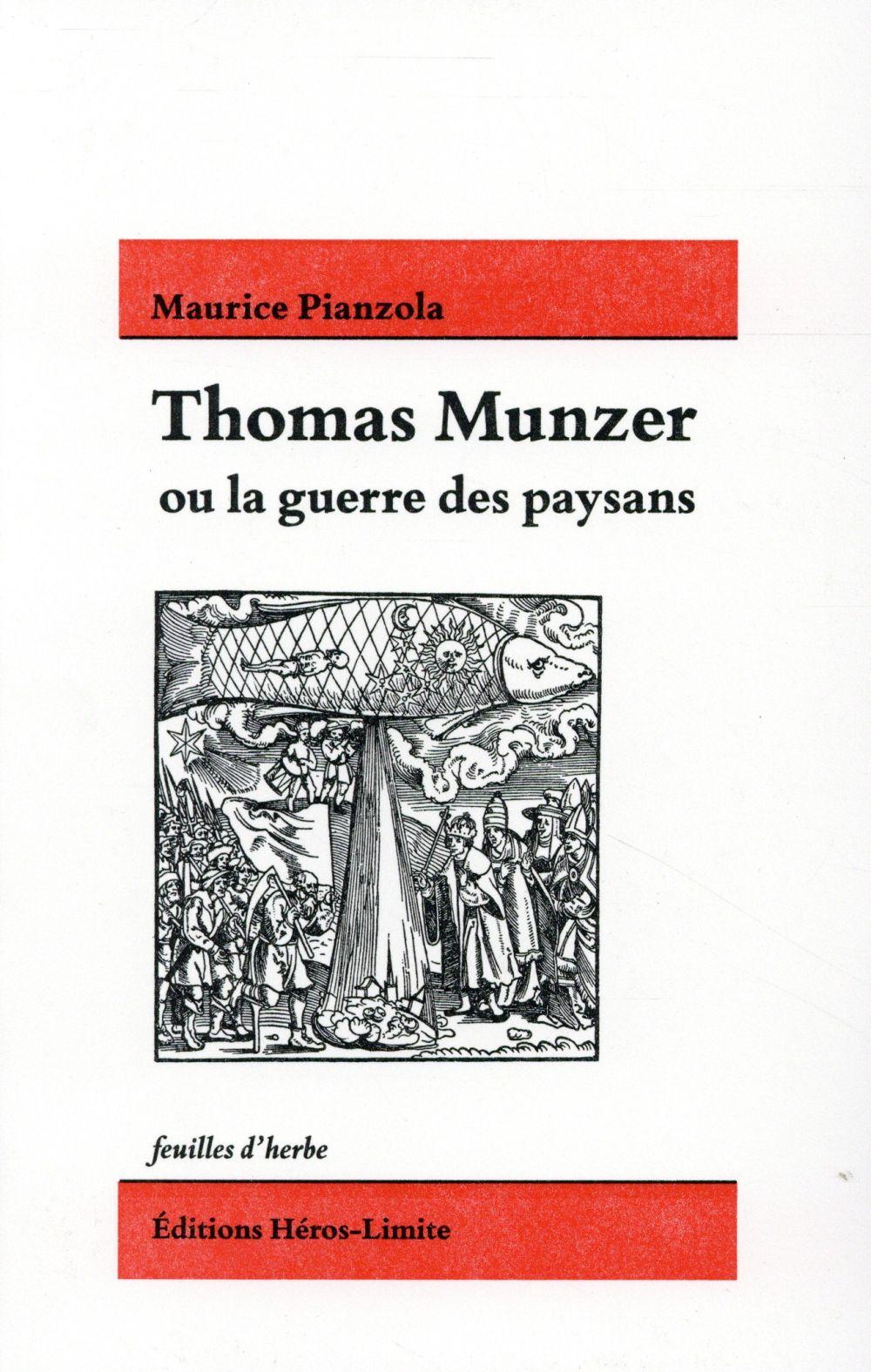 THOMAS MUNZER OU LA GUERRE DES PAYSANS