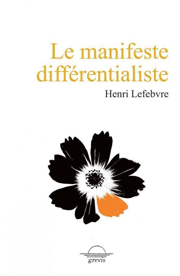 LE MANIFESTE DIFFERENTIALISTE