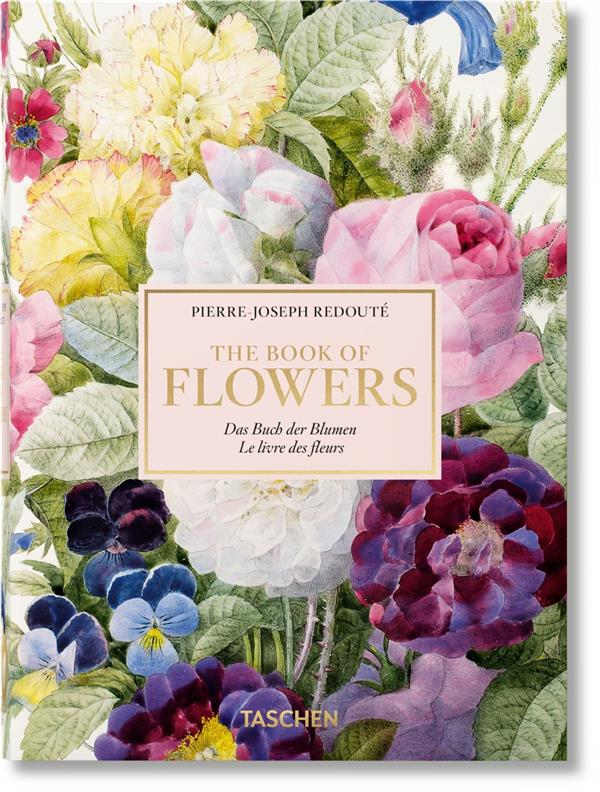 REDOUTE  -  BOOK OF FLOWERS