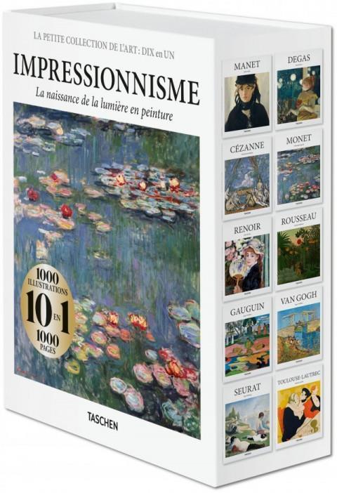 LA PETITE COLLECTION DE L'ART : DIX EN UN  -  IMPRESSIONNISME