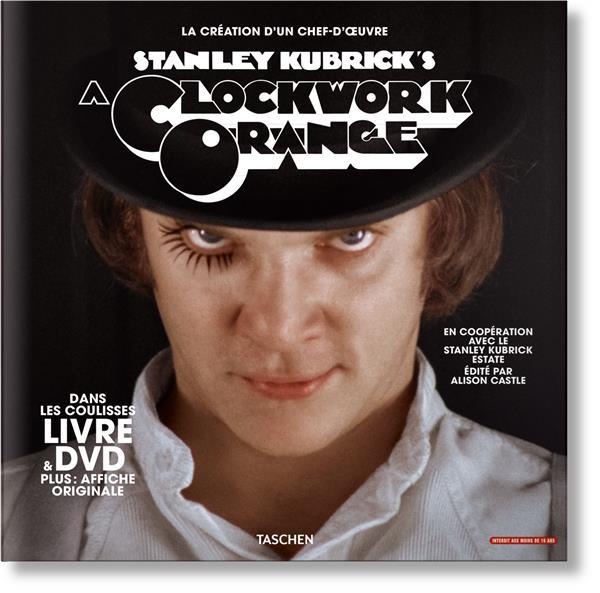 STANLEY KUBRICK. ORANGE MECANIQUE. COFFRET LIVRE & DVD
