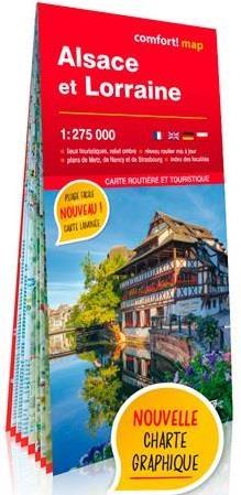 ALSACE ET LORRAINE 1275.000 CARTE GRAND FORMAT XXX NC