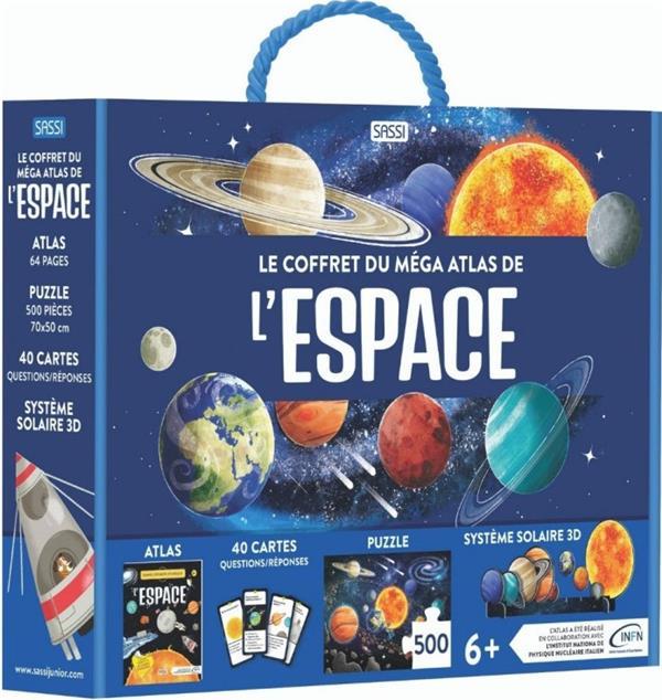 LE COFFRET MEGA ATLAS DE L-ESPACE. TOUT SAVOIR SUR L-ESPACE